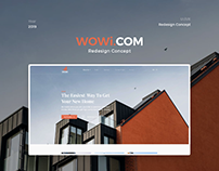 WOWi Redesign Concept