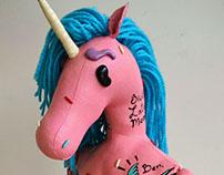 El unicornio: Diego del Toro, por Dedos de Crema.