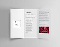 3 Panel Brochure Mockup