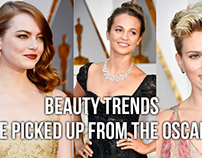 Beauty Trends We Picked Up From The Oscars