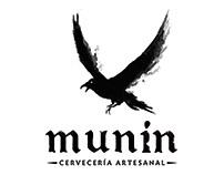 Identidad Cervecería Artesanal Munin