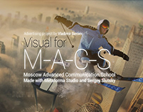 Visuals for Moscow Advanced Communication School