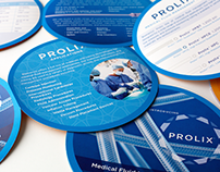 Circular Die-cut Double Sided Brochure