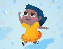 A Girl's Dream - Illustration