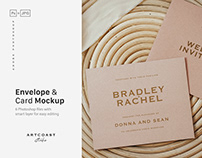 Envelope & Cards Mockup