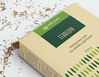 Grass seeds packaging