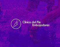 Página web para Clínica del Pie Embajadores