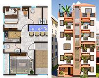 Haider Villa (Floor Plan + Exterior Design)