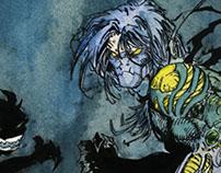 Illustration Comics Darkness