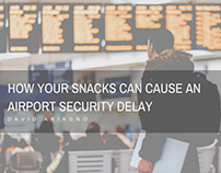 How Your Snacks Can Cause an Airport Security Delay