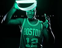 "Boston Celtics ""Glow"""