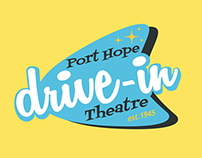 Port Hope Drive-in Rebrand