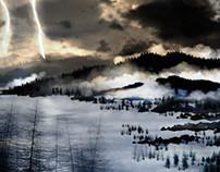 Paysages neigeux