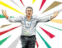 carlos queiroz (IRAN in World Cup)