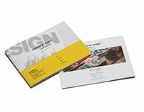 Portfolio A5 Brochure