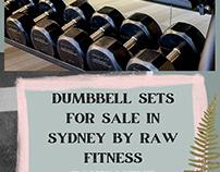 Buy Dumbbell Sets | RAW Fitness Equipment