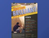 Jonathan Brilliant Poster