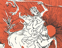 Centauro a dos tintas