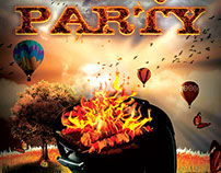 BBQ Party Flyer Template V1