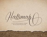 Hallimah Script Font (FREE FONT)
