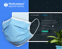 MedicalSpan - Landing Page Design