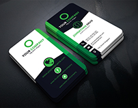 Corporate Business Card (vertical)