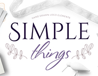 Simple things - scandinavian logo creator