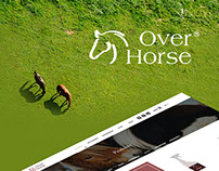 Over Horse website and embedded videos