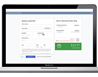 QuickBooks Subscription Experience