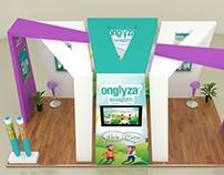 AstraZeneca _ Onglyza Exhibition Design