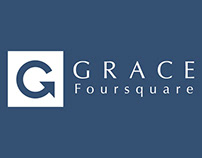 Grace Foursquare Church business card Concepts