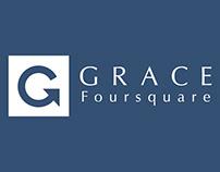 Grace Foursquare Church business card Concepts