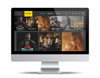 STX Entertainment - EPK UiUX Design