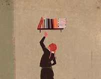 How to attain knowledge (Editorial illustration)