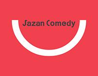 Jazan Comedy: Logo & Identity