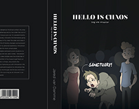 Third year - Book cover and spread design