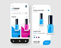 Nail Polish App Design