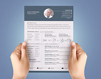 Free Resume Template with Cover Leter and Business Card