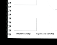 Body as Knowledge – experimental workshop