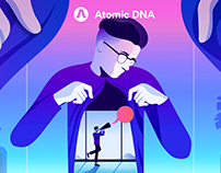 Atomic DNA Manifesto Design 2018.