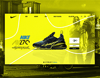 NIKE X CYBERPUNK WEB DESIGN Collaboration