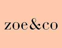 IDENTITY AND LOGO DESIGN FOR ZOE&CO | 2018