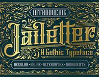 Jailetter Typeface (Free Demo)