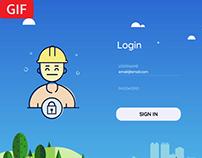 Login Page UI