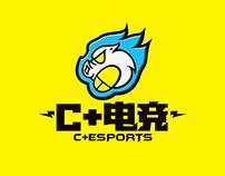 C+电竞品牌形象设计