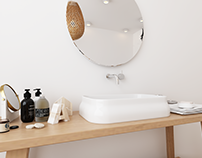 Scandinavian Bathroom Design 01