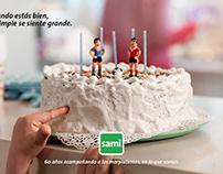 Sami 60 aniversario