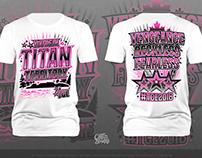 TCE Titans Cheerleading T-Shirt