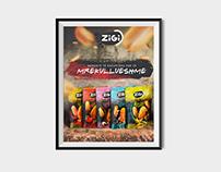 ZIGI Peanuts - Poster
