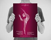 International Rhythmic Gymnastics Tournament Poster